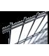 Panel 2D Antracit x/2500mm drát 6/5/6mm oko 50x200mm
